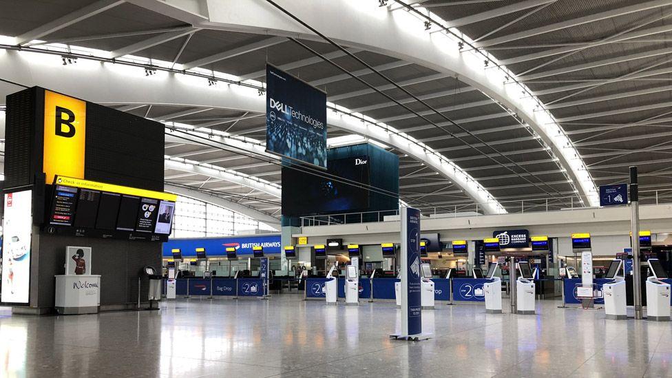 Heathrow Terminal 5 in 2019