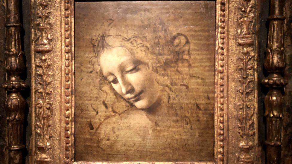 The Head of a Woman - also known as La Scapigliata