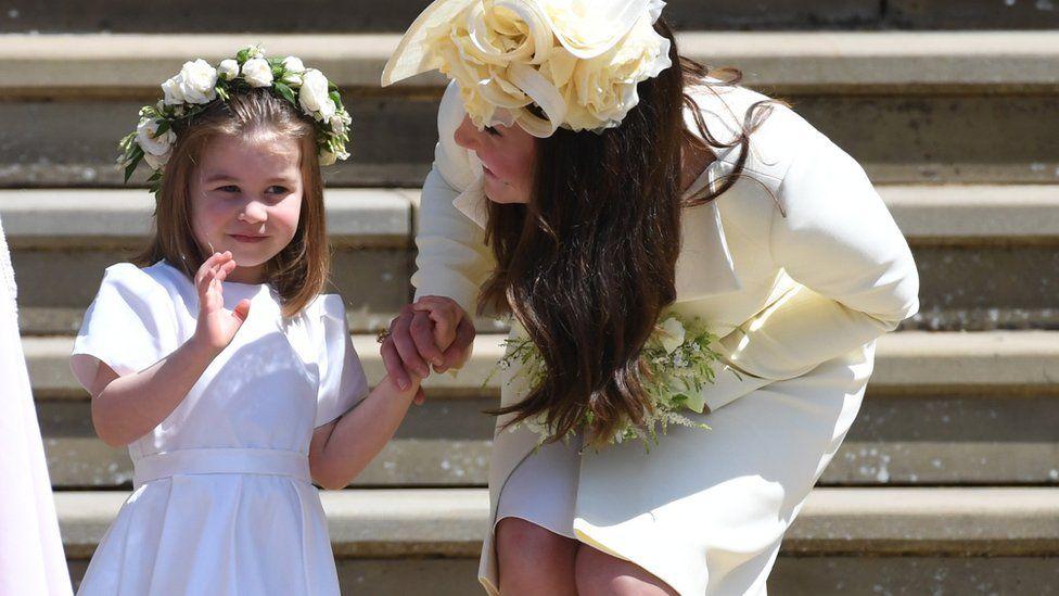 Юные подружки невесты и пажи на королевской свадьбе: фоторепортаж ...