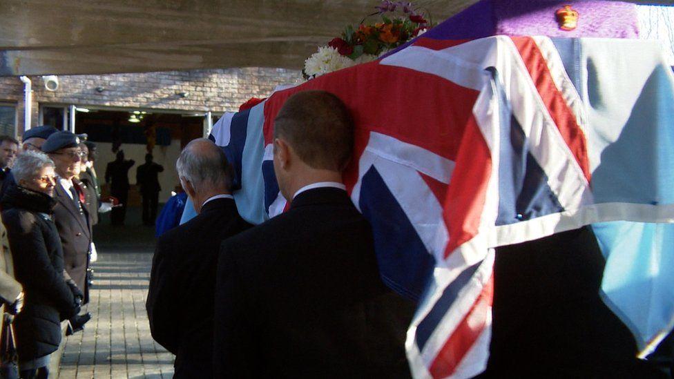 George Osborne funeral
