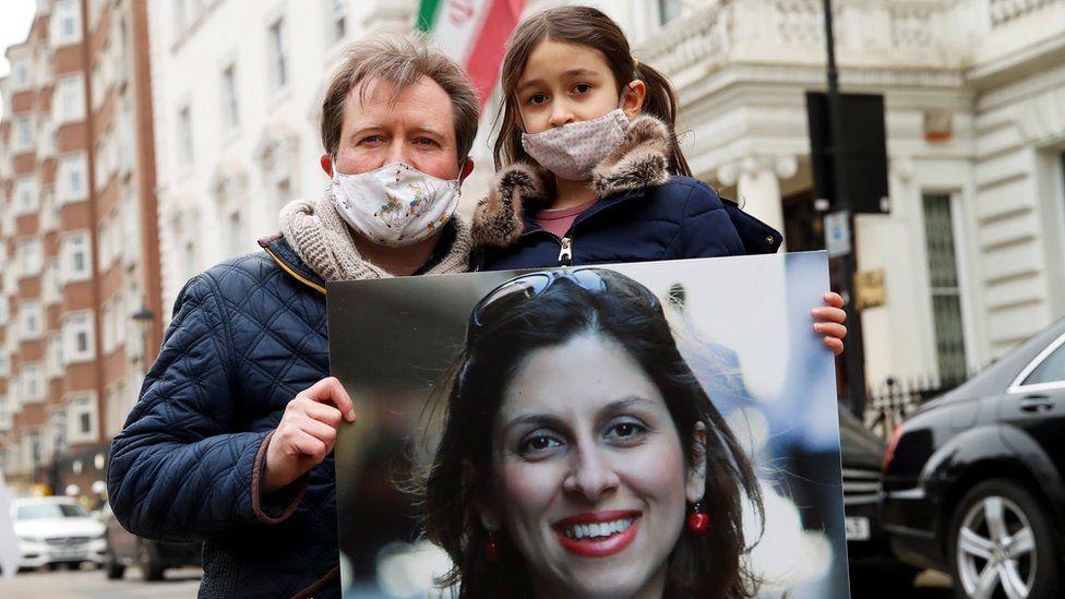 Richard Ratcliffe and daughter Gabriella