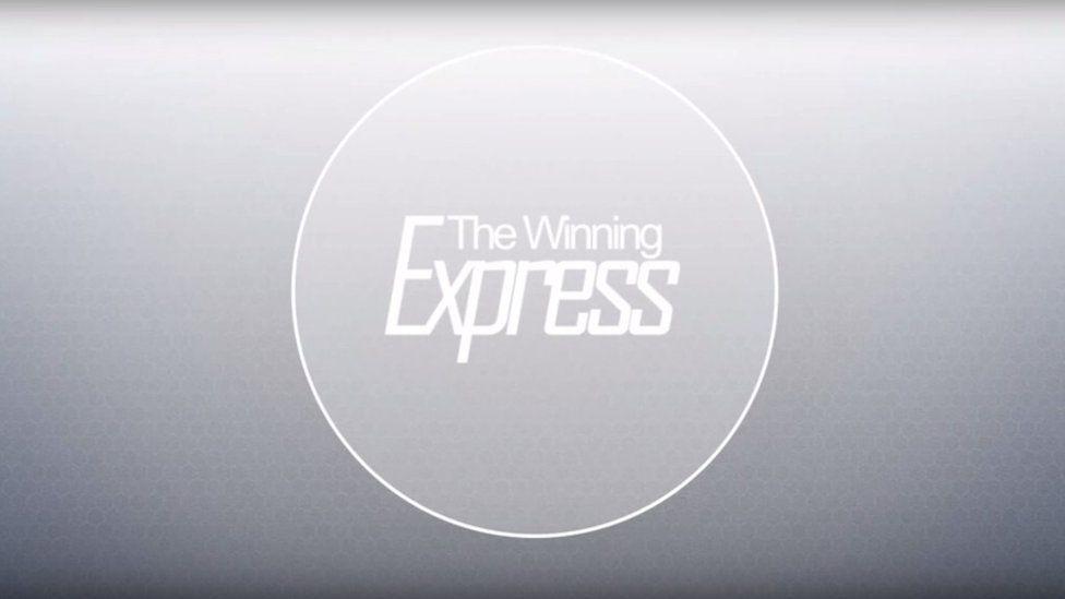 The Winning Express logo