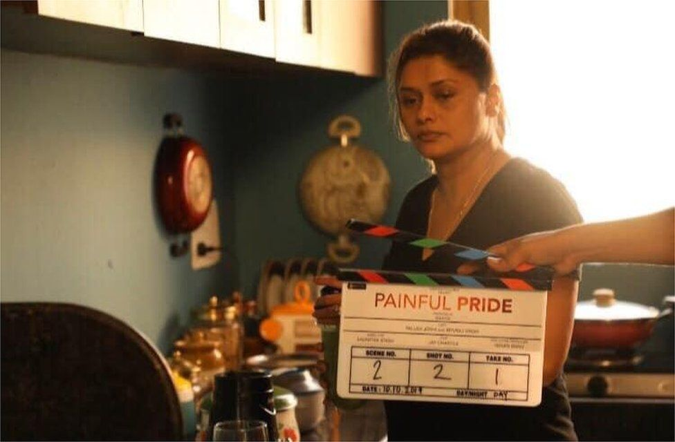 Pallavi Joshi in a scene from Painful Pride
