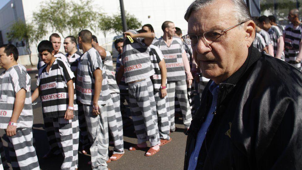 Arpaio and his prisoners