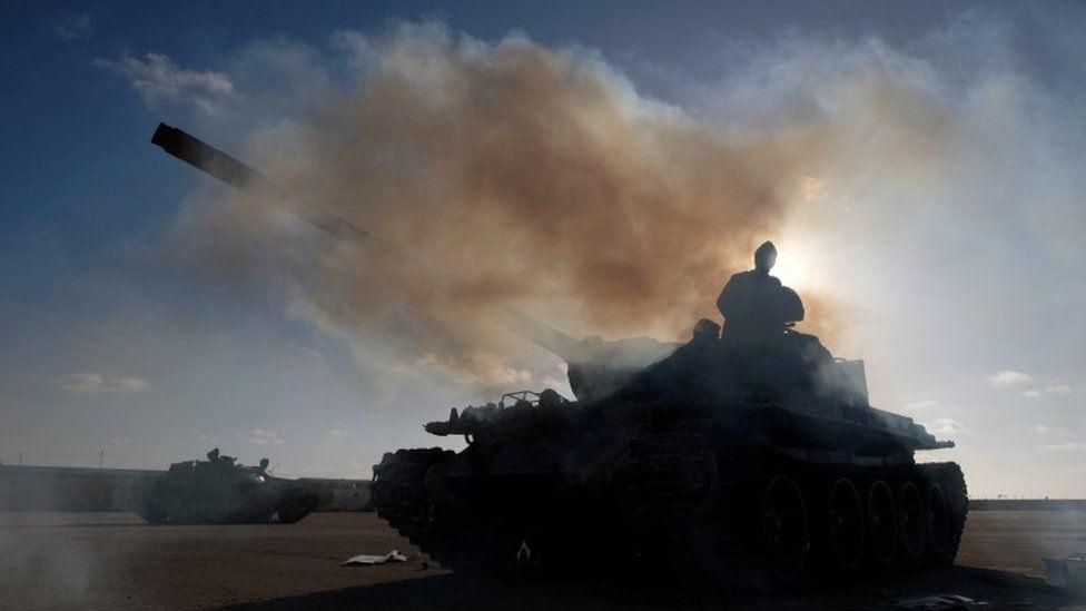 Gen Haftar's Libyan National Army (LNA)