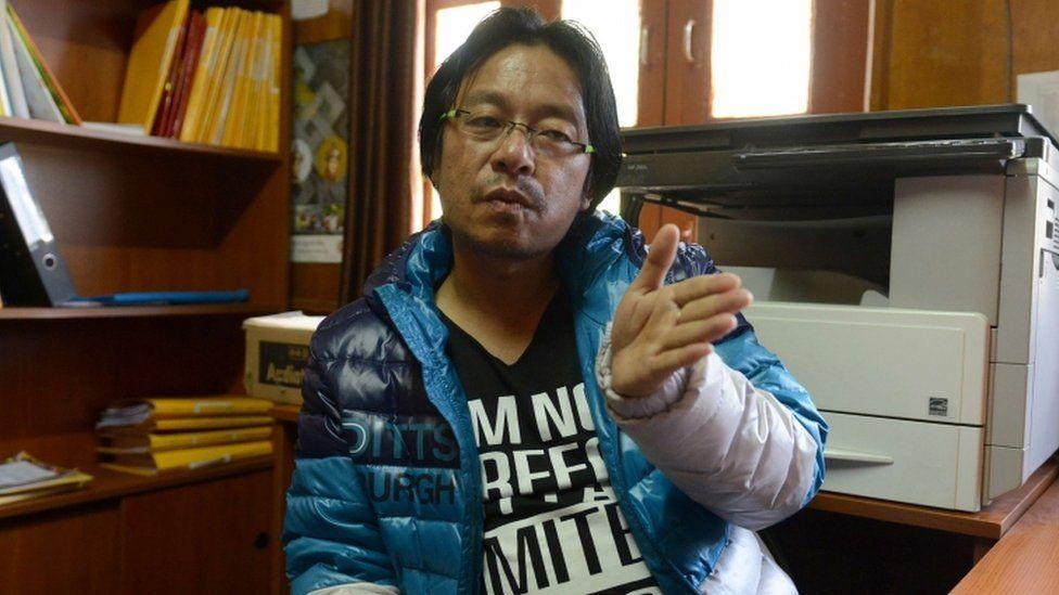Tshering Wangyel in 2014