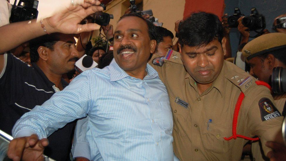 Gali Janardhana Reddy was arrested on 5 September 2011