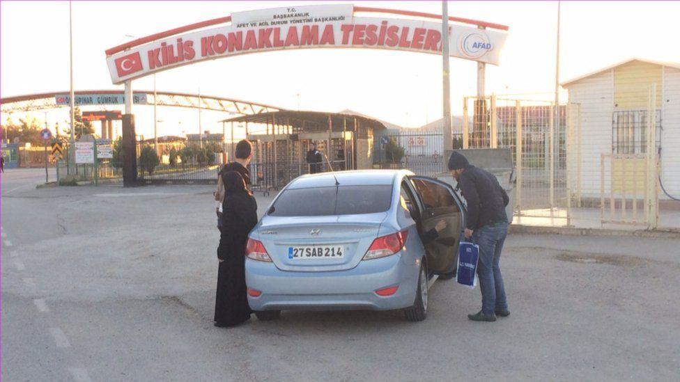Kilis border crossing between Turkey and Syria