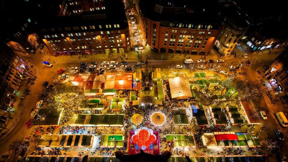 Coronavirus Manchester S Christmas Markets Cancelled Due To Pandemic Bbc News