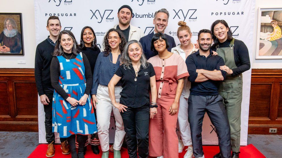 Group photo of Bon Appetit staff in Feburary 2020