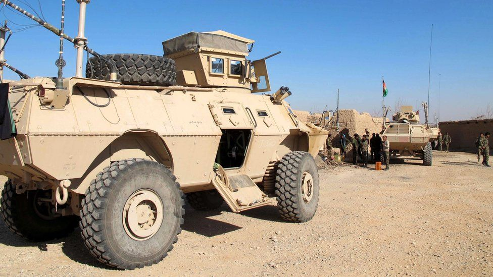 Afghan security forces in Helmand province, 20 December