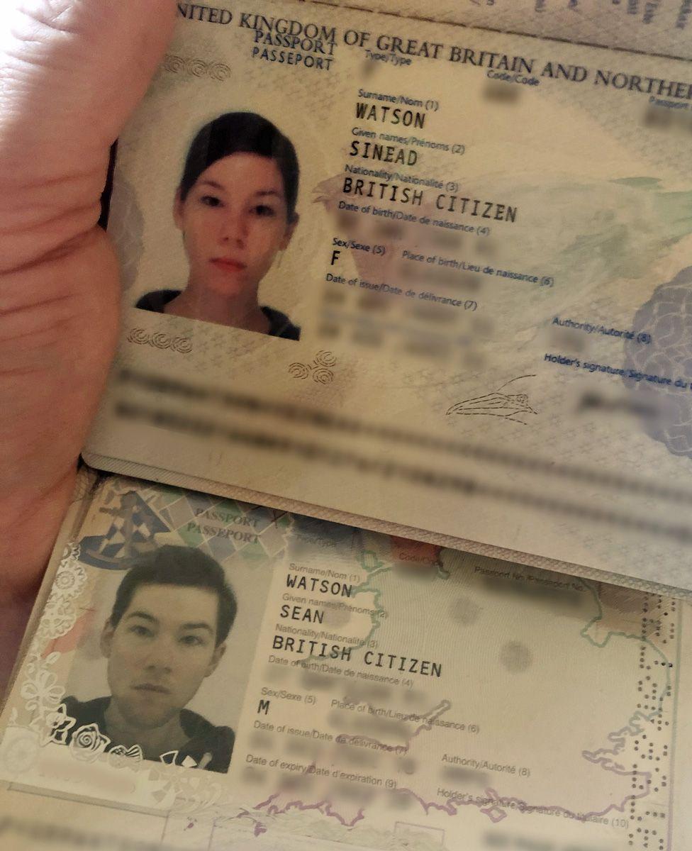 Sinead Watson's passport