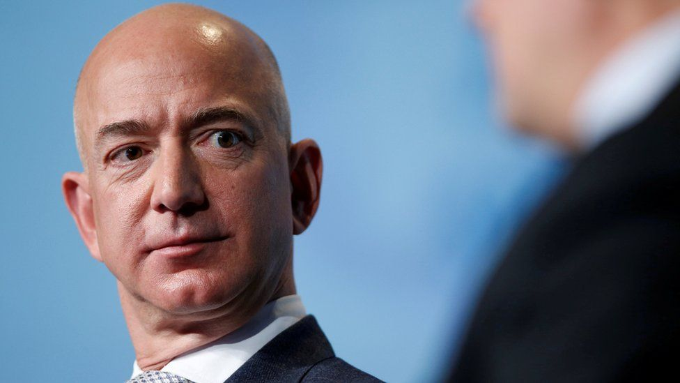Amazon chief executive Jeff Bezos