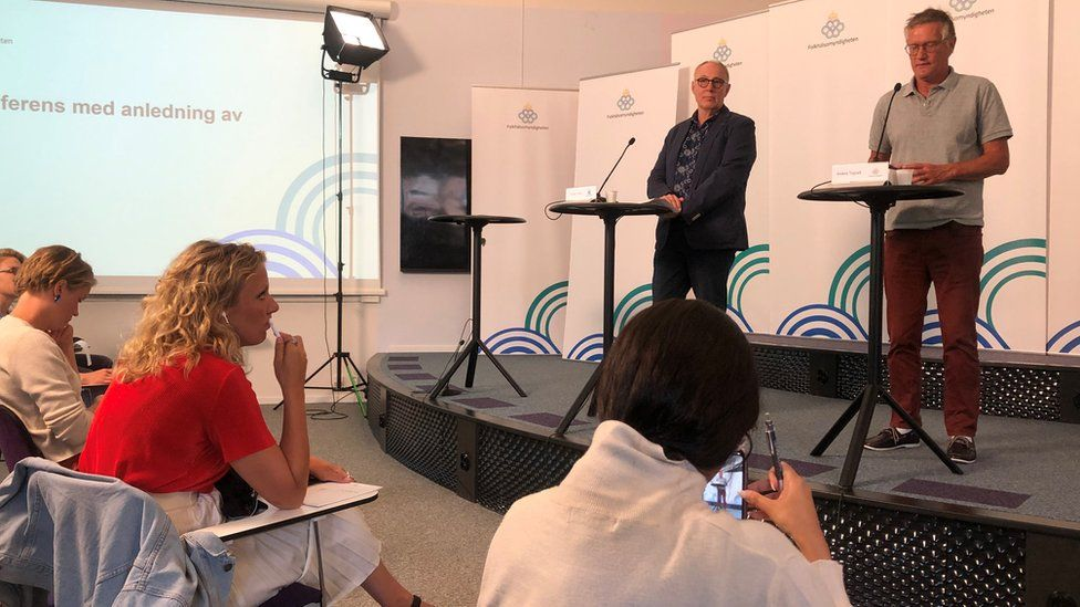 Swedish Public Health Agency's news conference