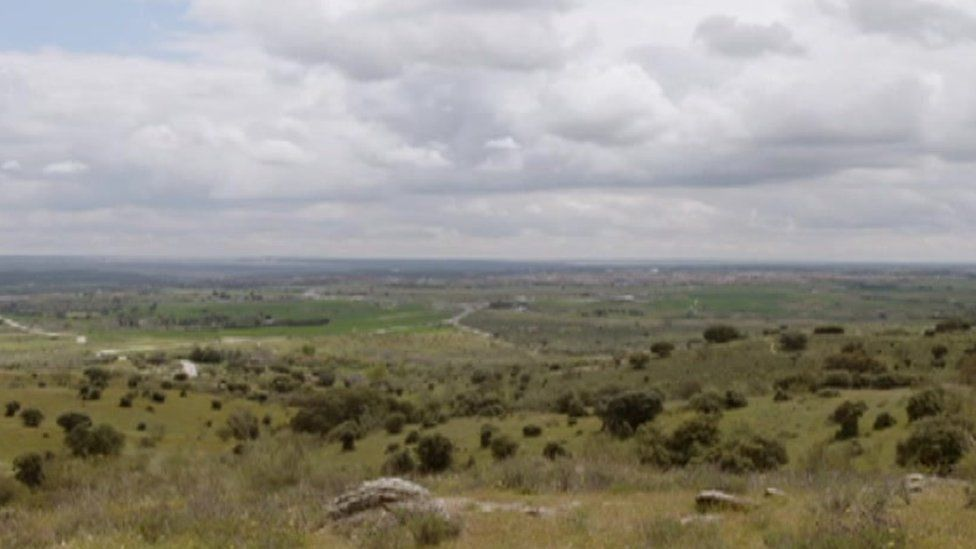 The battle site of Brunete