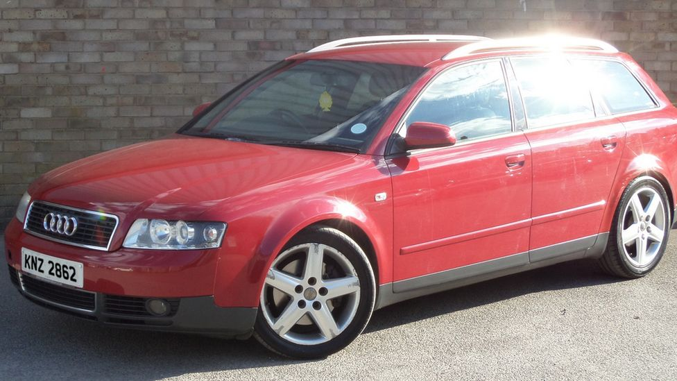 Red Audi found burned out in Culmore Gardens on 22 January 2017