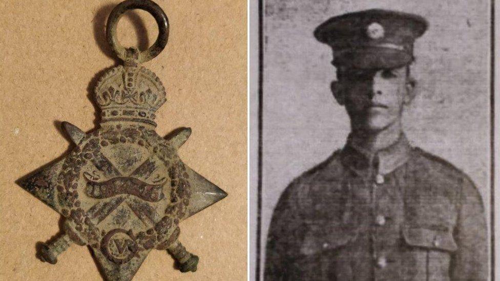 1914-15 Star Medal and Francis Joseph Tysoe