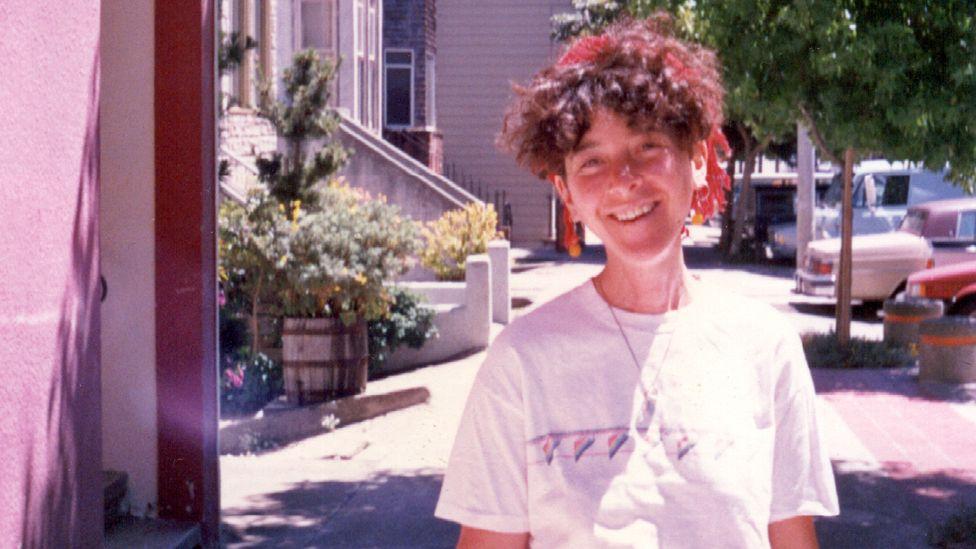 Margo in San Francisco, 1986