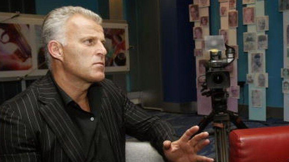 Dutch crime reporter Peter R de Vries in May 2005