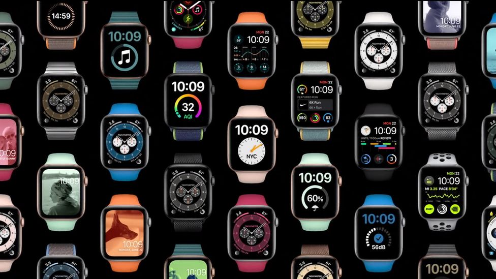 Apple Watch has received new customisation options - and the ability to share customised watch faces