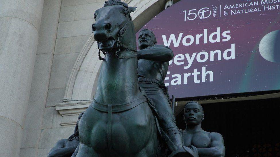 Theodore Roosevelt statue in New York