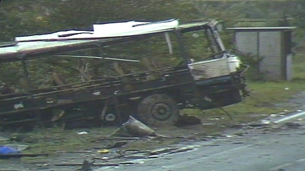 Ballygawley bus bomb