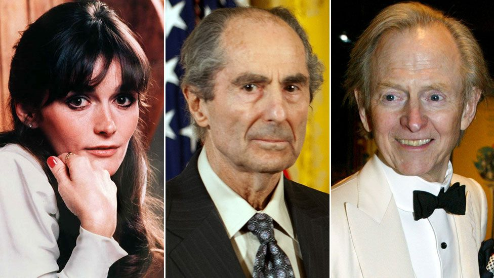 Margot Kidder, Philip Roth and Tom Wolfe