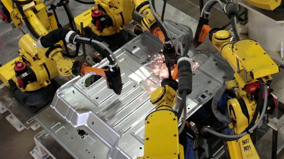 Robotics in factory