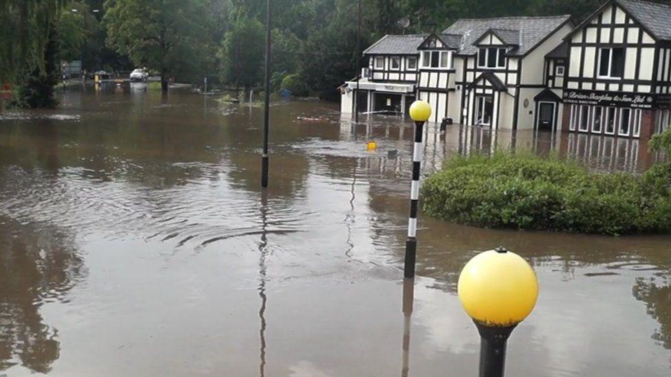 Flooding causes major disruption across north of England