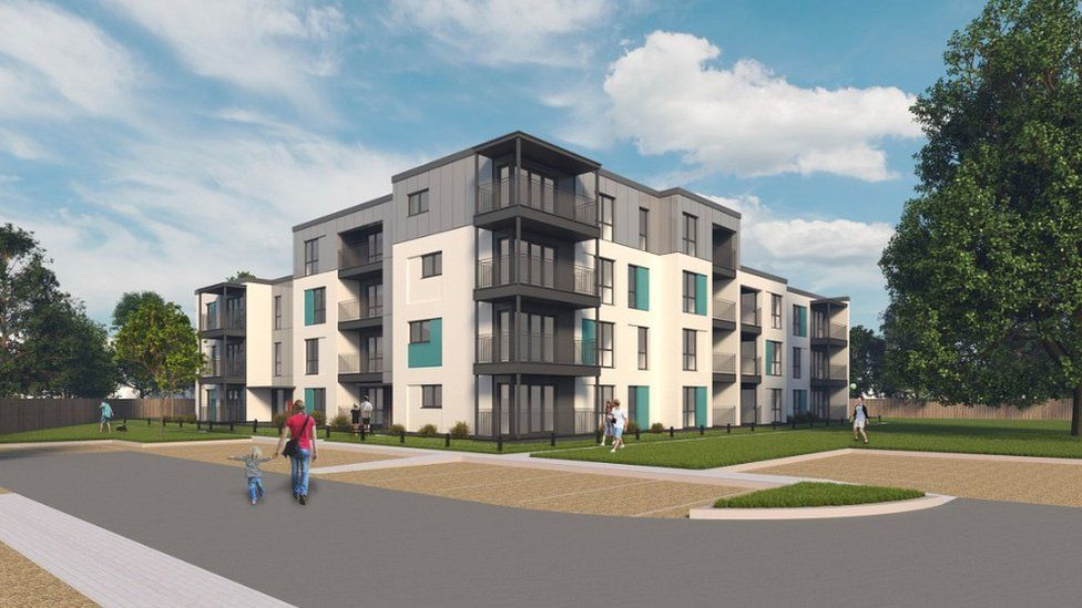 New flats planned for Bridgwater