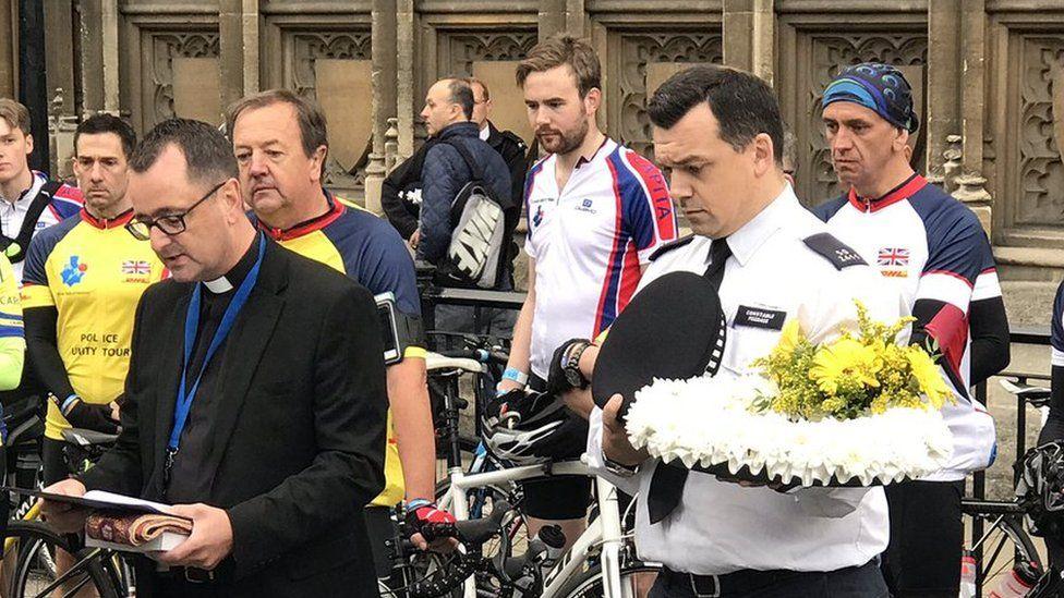 Police Unity Tour honours PC Keith Palmer