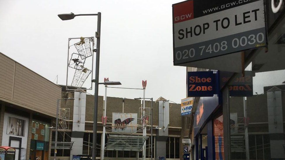 Shops closing down