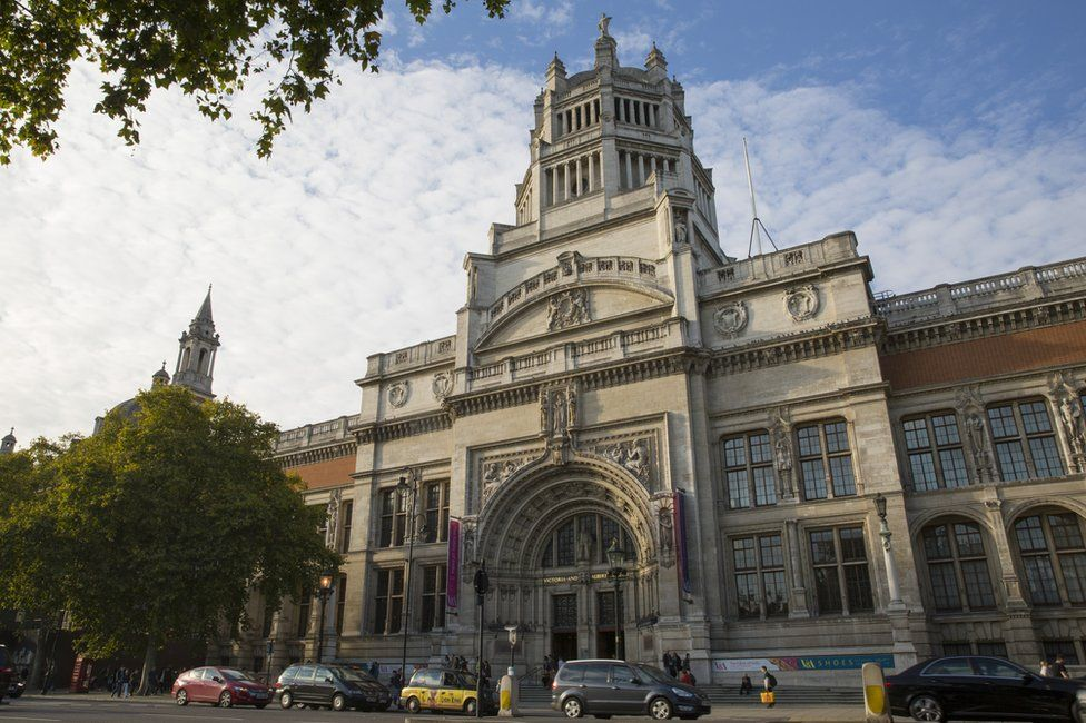 The original V&A in South Kensington is far larger than the new Dundee museum