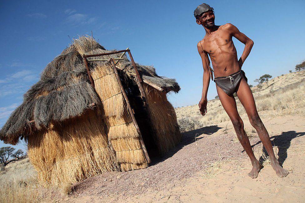 A Kalahari bushman