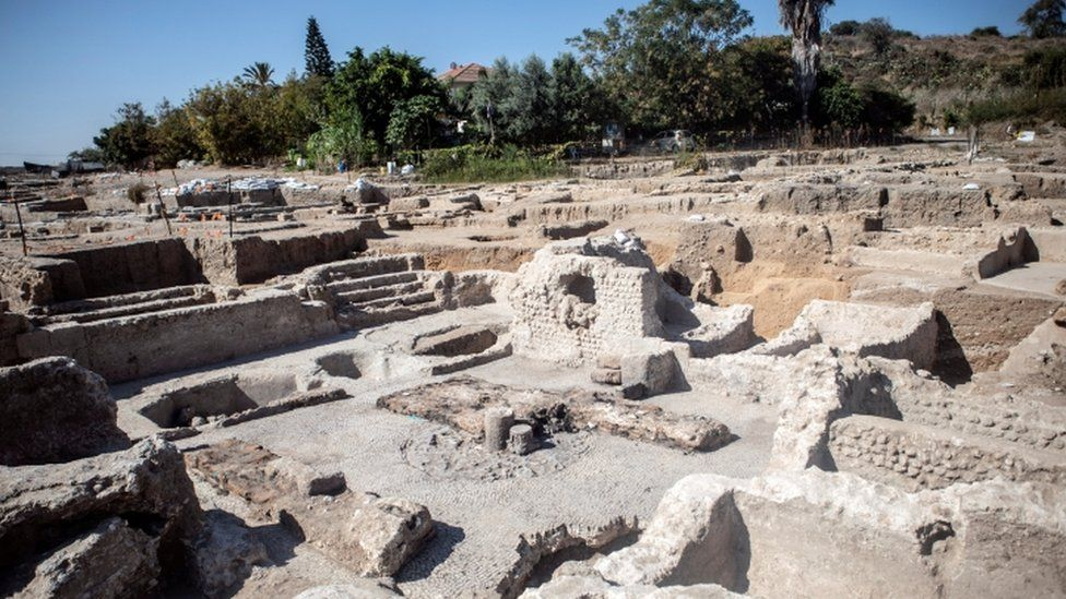 Excavation site at Yavne