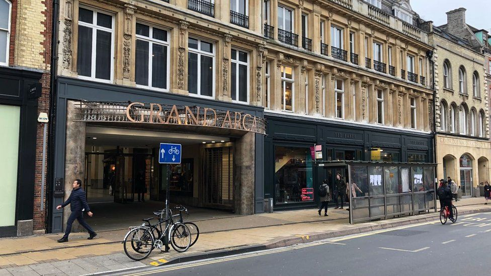 Grand Arcade Shopping Centre, Cambridge