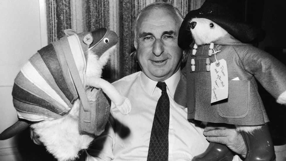 Michael Bond in 1981