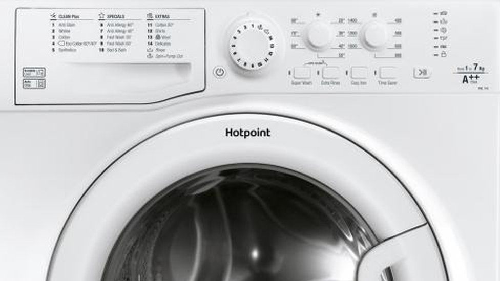 Hotpoint washing machine among the models being recalled