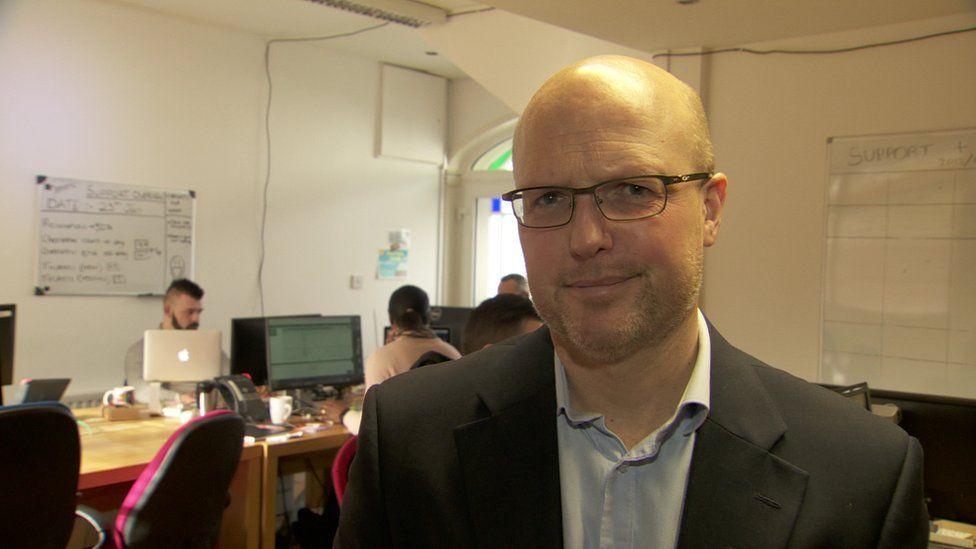 Richard Martin is the managing director of Tascomi