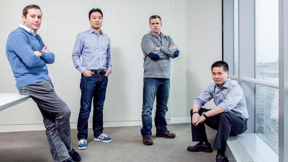 Members of IEX's original team