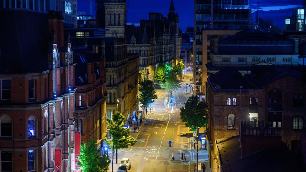 View of Princess Street, Manchester