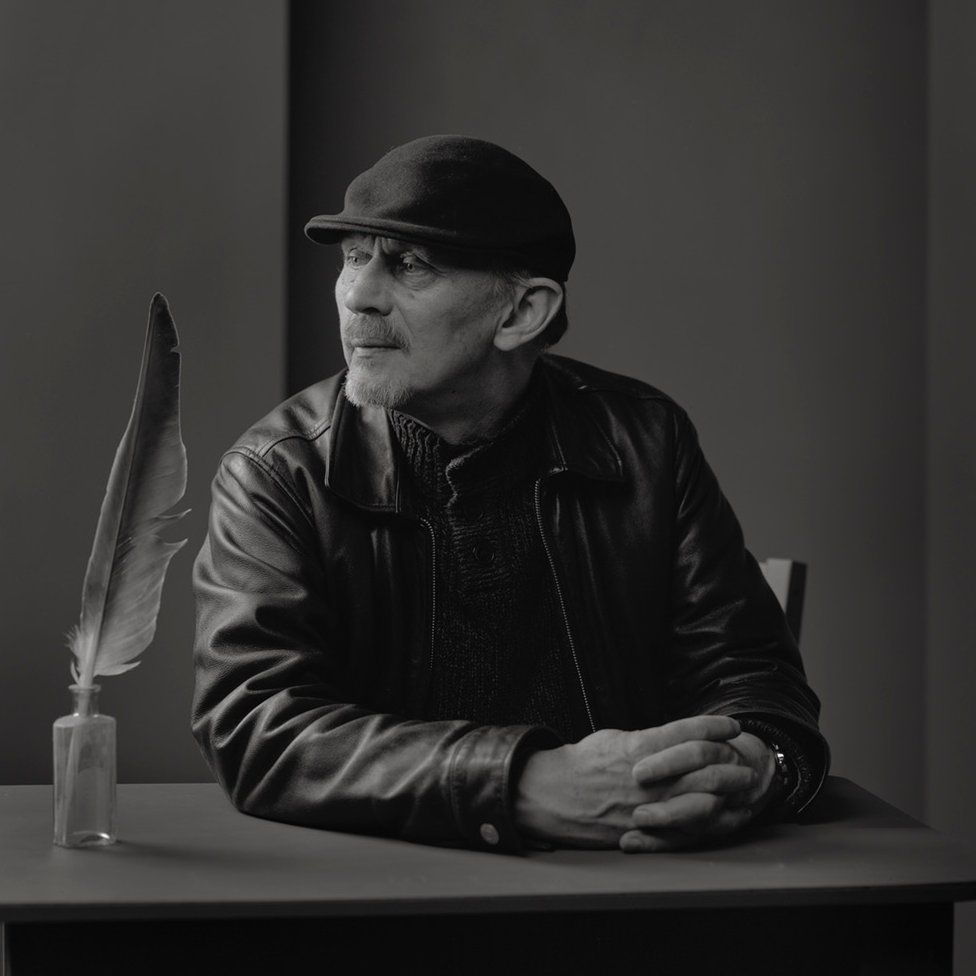 Photograph of Robert Alan Jamieson by Robin Gillanders