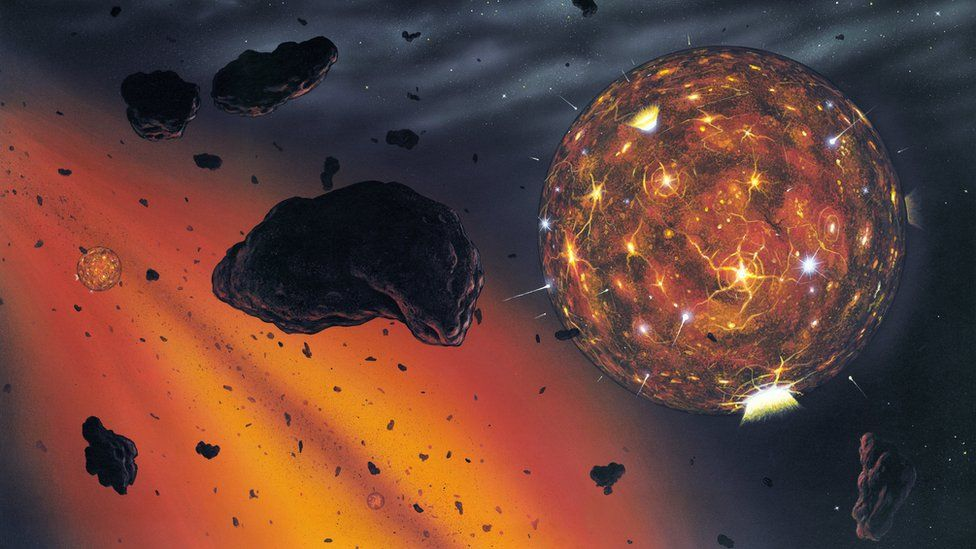 Proto-planet artwork