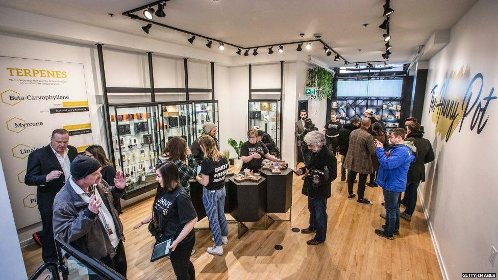 Legal cannabis store the Hunny Pot