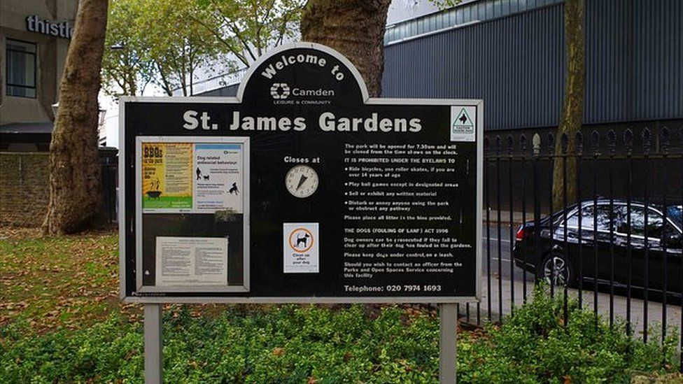 St James' Gardens dates back to the 18th century