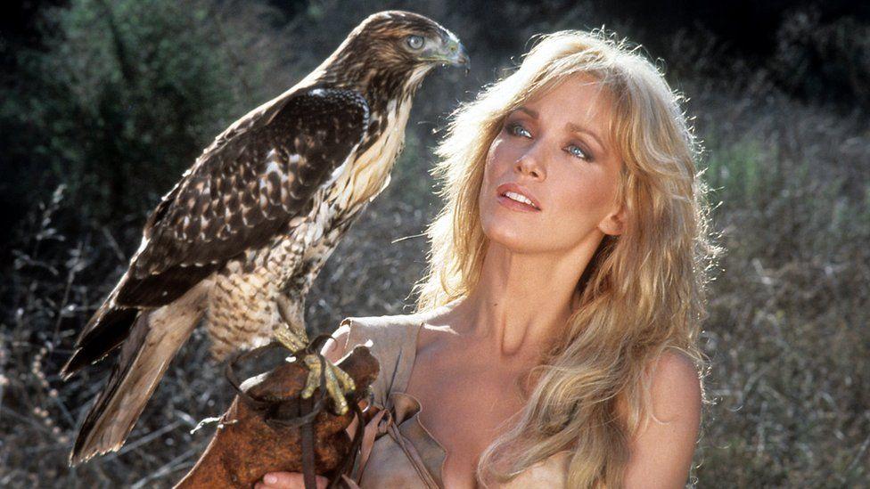 Tanya Roberts in Sheena: Queen of the Jungle