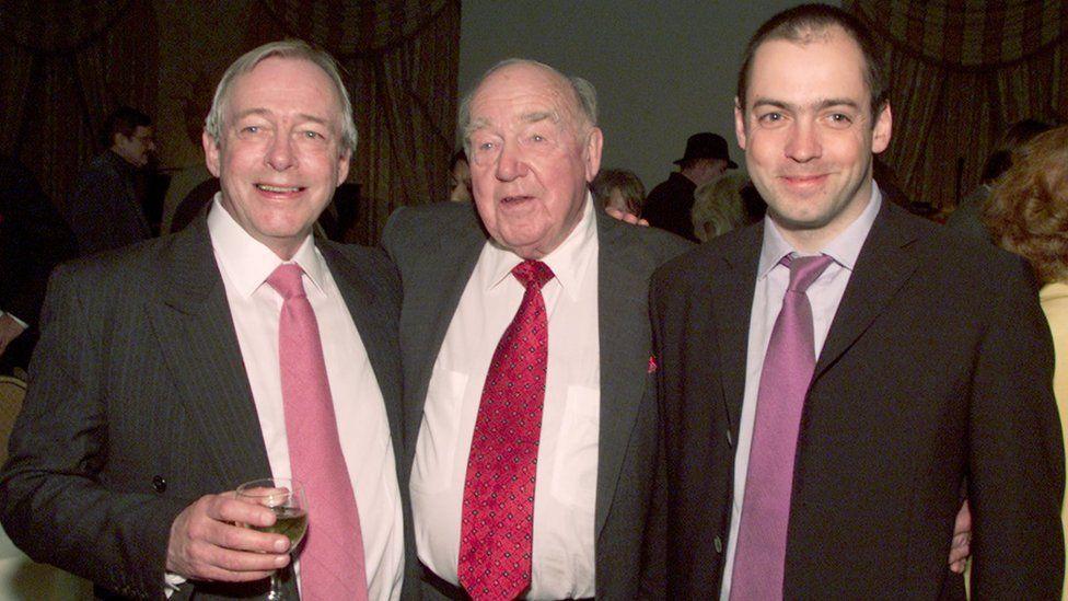 Christopher Neame, Ronald Neame and Gareth Neame
