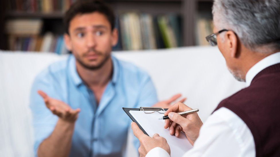 A consultation with a psychiatrist