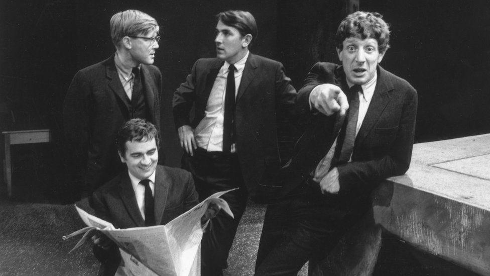 Jonathan Miller, Dudley Moore, Alan Bennett and Peter Cook.