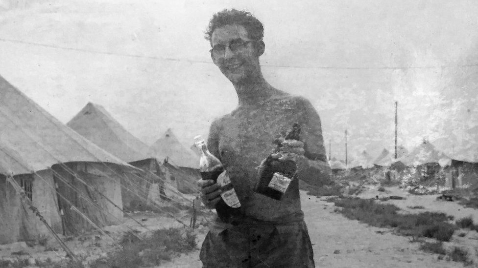 John Ward on Christmas Island